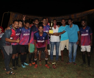 Unchi Boys win 5-a-side football title