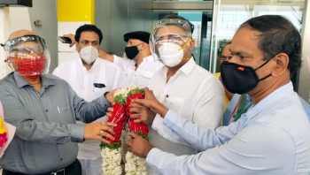 Goa Cong desk in-charge Gundu Rao arrives in State