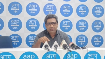 AAP says govt working for Adani's interests and not of Goans