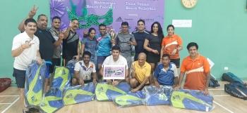 Aces emerge champions of Enthu Badminton League