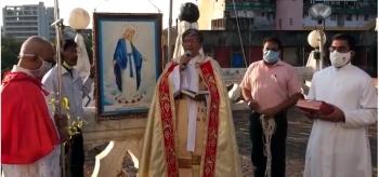 Novenas underway at Panaji Church