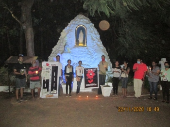 Prayer service in Siolim  remembers road traffic victims