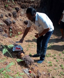 MLA launches projects   in Poinguinim