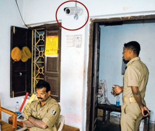 CCTV cameras at police stations: The reality check
