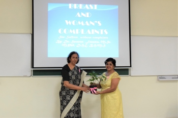 VMSIIHE organises awareness talk on breast cancer to dispel myths