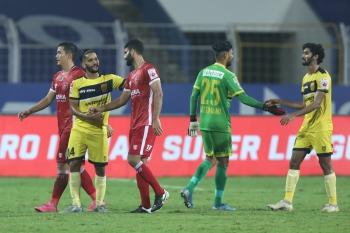 Odisha fight back to hold Hyderabad 1-1