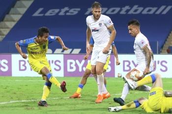 Kerala Blasters shock Bengaluru