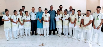Church in solidarity, empathy  with the sick in Goa