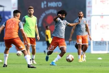 FC Goa face stern Mumbai City test in playoff first leg