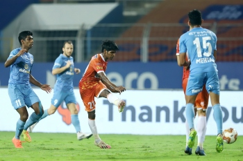 FC Goa, Mumbai play 2-2 draw in first leg of ISL semis