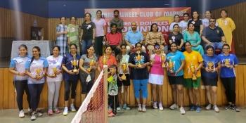 Ketki-Uma win women's doubles badminton tourney