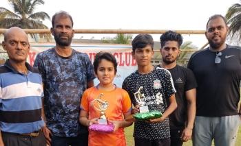 Arnav wins football tie-breaker in Majorda