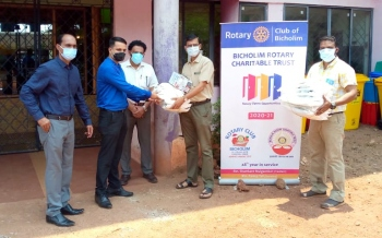 PPE kits given to Covid care   centre in Sarvan