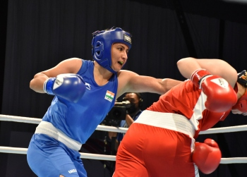 Pooja strikes gold; silver for Mary Kom, 2 others at Asian C'ships