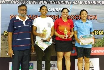 National Masters Badminton: Goa's Sandhya, Ayoob, Leena excel