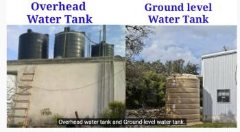 VASTU TIPS FOR OVERHEAD WATER TANK