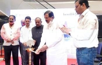 Shripad opens Azadi   Mahotsav promotions