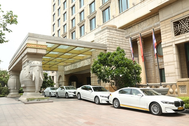 BMW delivers 45 cars   to The Leela Palaces