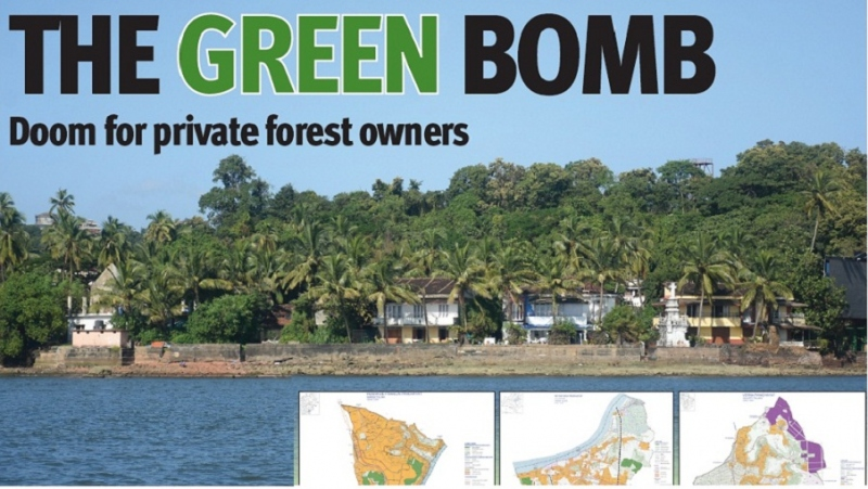 THE GREEN BOMB Doom for private forest owners