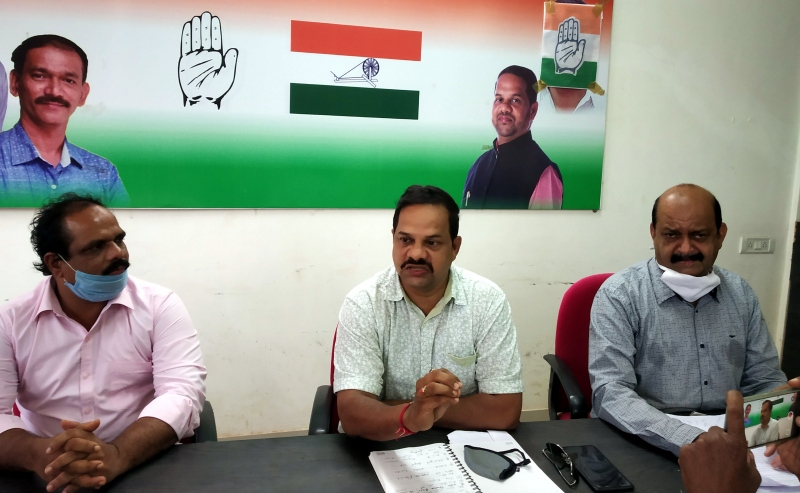 Diversion of funds for new Mapusa bus stand  smacks of political skulduggery: Congress
