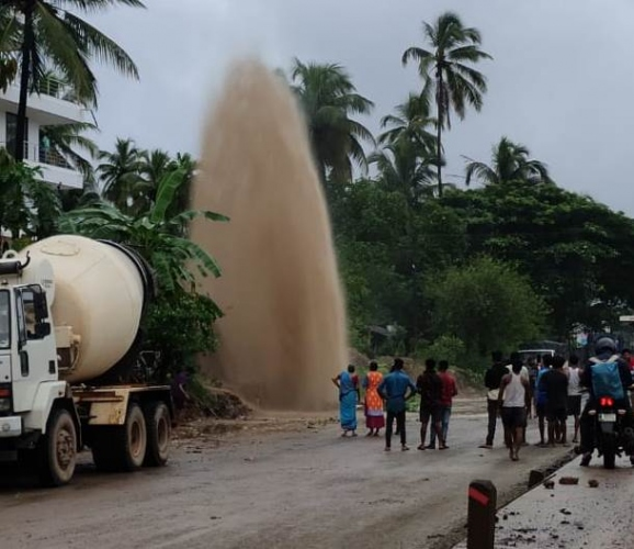 Pipeline damage: Reckless contractor makes PWD dance to his tunes