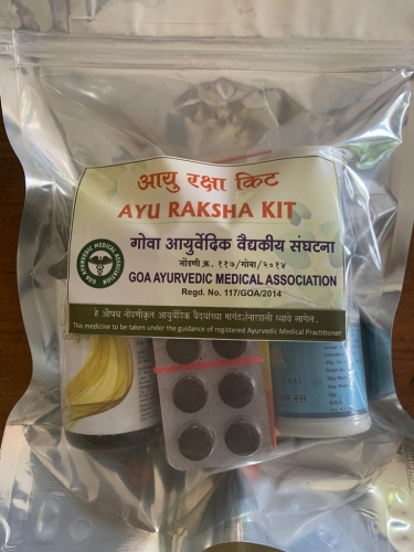 Goa Ayurvedic Medical Association offers Ayu Raksha kits for Covid patients in home isolation