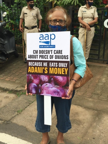 BJP govt failed to control veggies prices, how will common man survive: AAP
