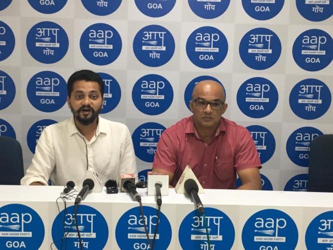 Is the Goan voice falling on deaf ears of CM, asks AAP
