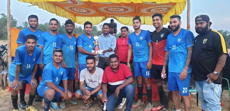 Tiger Boys win 7-a-side title