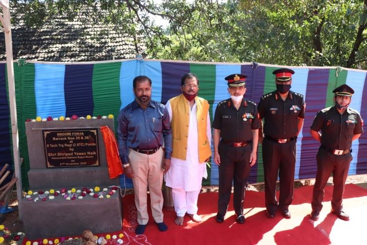 Shripad reviews 2 Signal Training Centre at Ponda