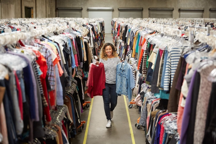 Can secondhand clothing solve fashion's sustainability crisis?