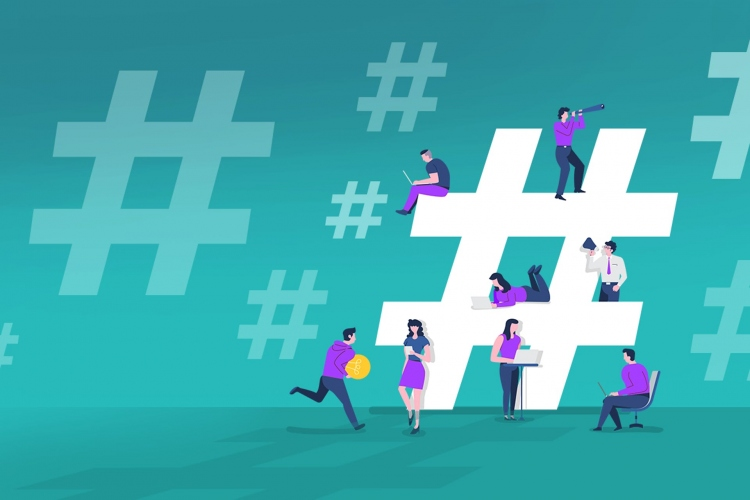 Hashtags may not be words, but they help spread a message