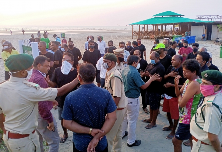 Morjim locals object to   NGO in Turtle Festival