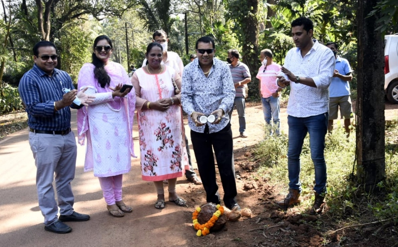 Sancoale panchayat launches   record 24 works on single day