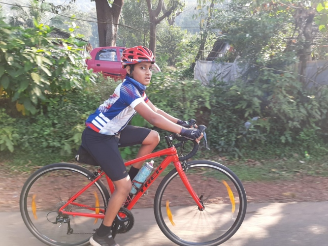76 complete Tri Goa's  endurance cycle rides