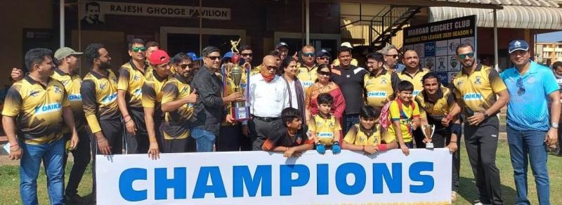 MCC Royals win T-20 cricket tourney