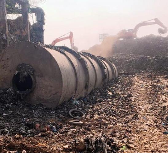 Bioremediation at Sonsodo dump resumes