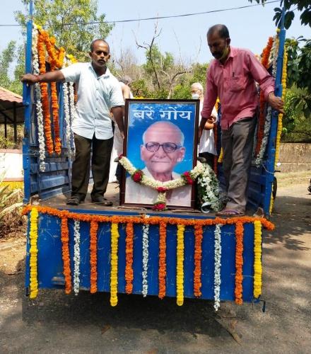 Citizens bid farewell to MARG founder Gurunath Kelekar