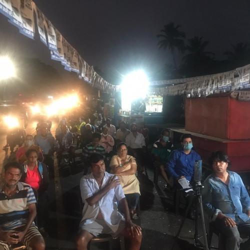 AAP's Veez Andolan meet held in Nerul