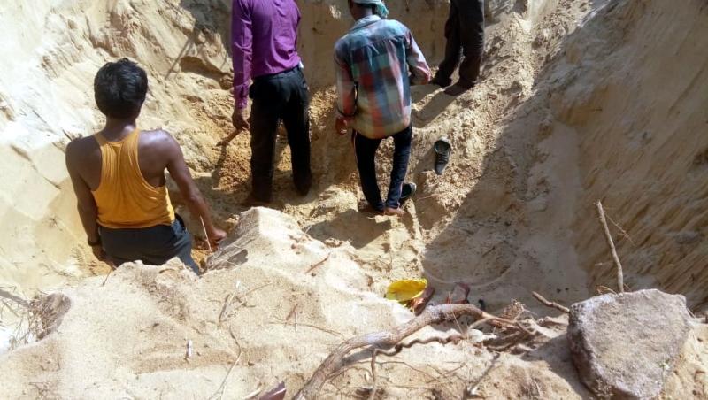 Cement construction in Calangute NDZ invites local wrath