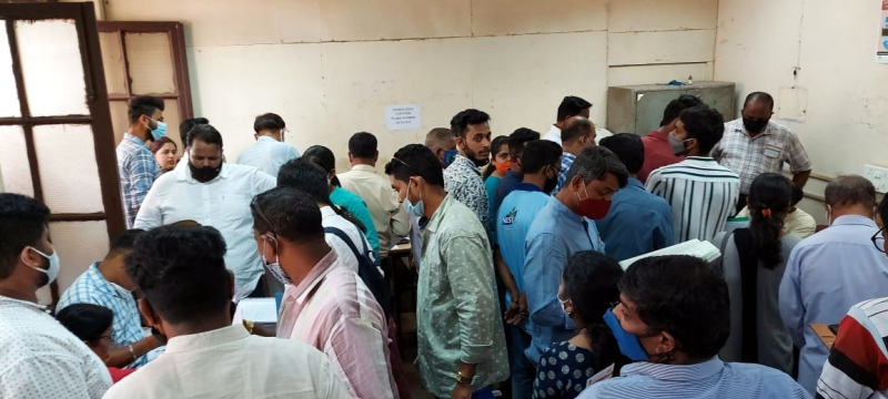 Mad rush in Mormugao; 64 file nomination papers