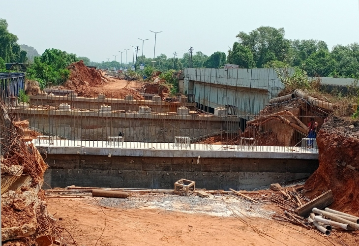 Bridge on Tar river   to be complete   by May, says MLA