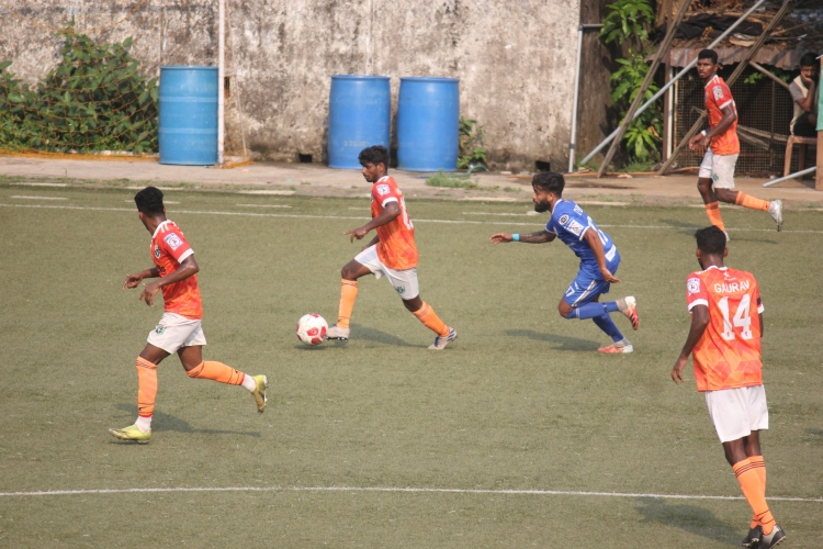 Sporting Clube, Dempo SC end in a eight-goal thriller
