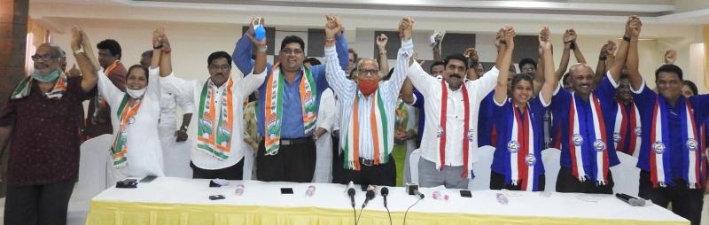 BATTLE FOR MARGAO: CONG, GF UNITE AGAINST BJP