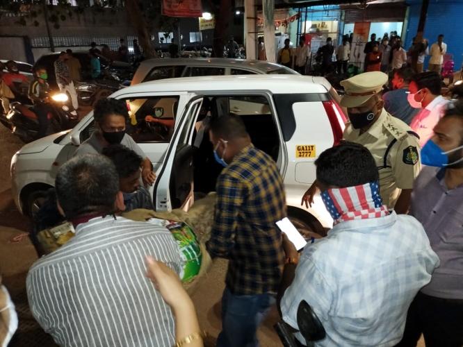 Mangor tense as authorities seize Ambedkar statue