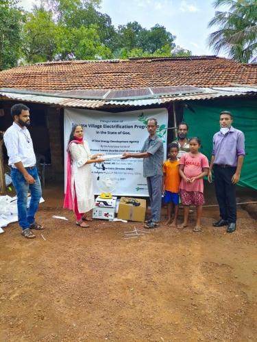 CM launches solar-based remote village electrification programme