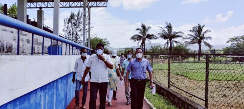 Cuncolim ground to get new turf