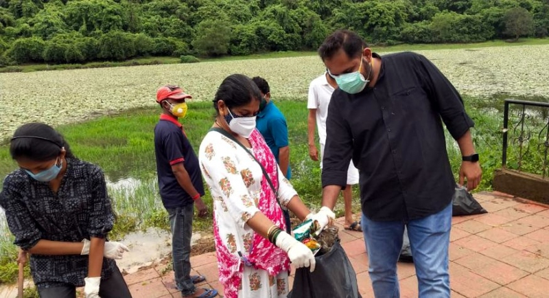Tourists will visit   Savlem Lake if kept   clean: Pilerne VP