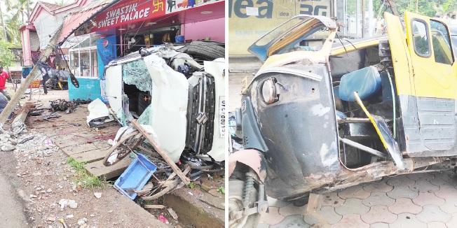 Seaman dies in Rawanfond mishap,  3 occupants escape with injuries