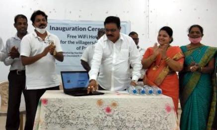 BJP, MGP signal political fight, provide free Wi-Fi in Mandrem